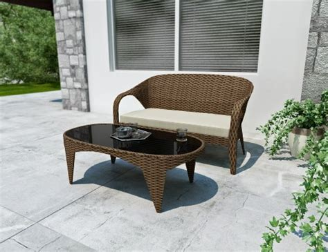 Harrison Patio Furniture by Sonax S 206 Shp Harrison Patio Sofa And Table Home