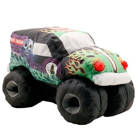 grave digger monster truck toys for kids grave digger puff truck
