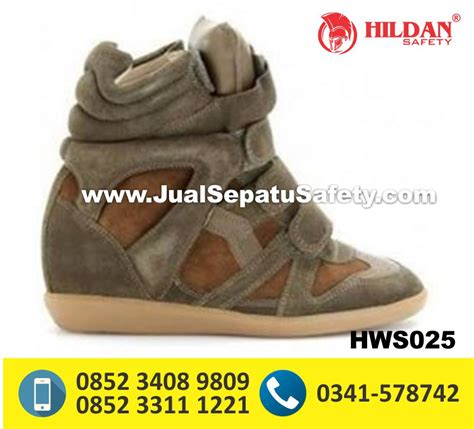 Sepatu Safety Glodok pengrajin sepatu boots wanita kulit custom