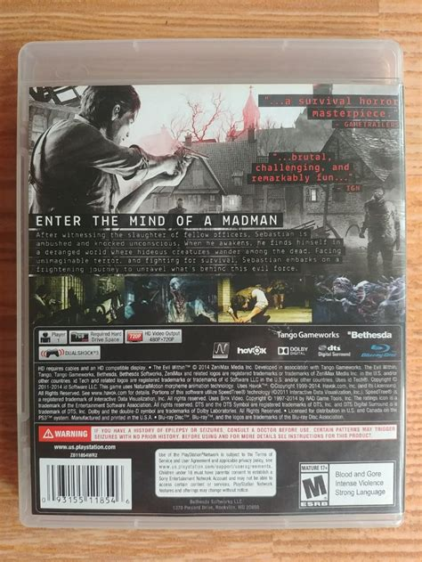 Bd Ps3 Tournament jual bd ps3 the evil within di lapak ruly kungpaw