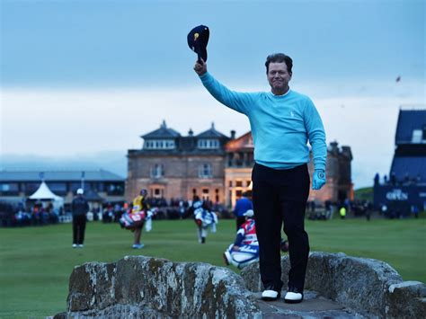 Tom Open I Was Playing - tom watson was almost overcome by emotion after completing