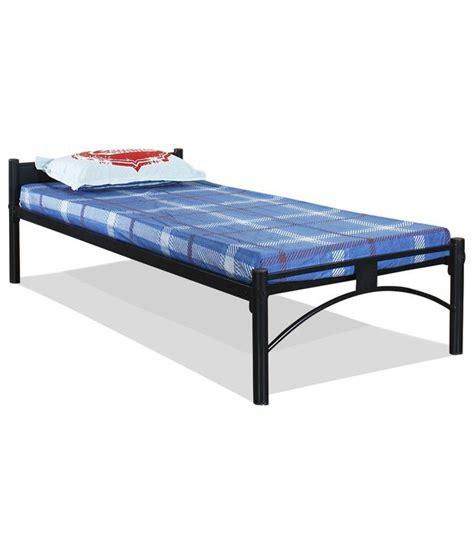 Single Mattress Cost Furniturekraft Greenwich Single Bed In Black Buy