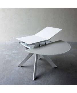 tavoli in vetro rotondi tavoli allungabili rotondi italia mobili