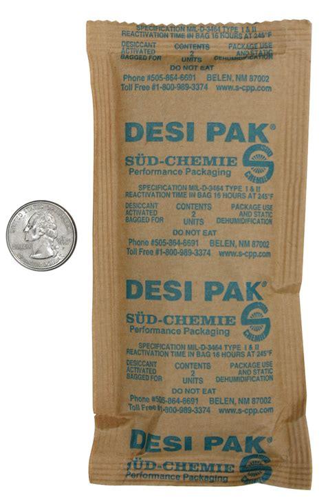 Desipak 2 Gram 2 unit desiccant clay 3 quot x 6 1 2 packets