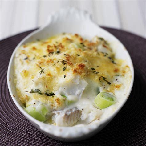 recette cuisine weight watcher gratin de poisson blanc aux poireaux recette minceur