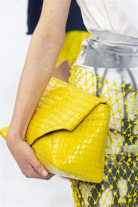 dries noten runway show for 2019 at pfw hello yellow footwear news