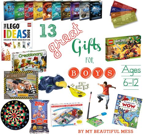 christmas presents for boys age 12 13 great gift ideas for grade school aged boys ages 6 12 giftideas