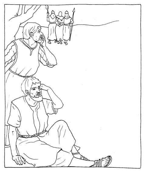 coloring page jesus arrested friday catholic coloring page jesus is arrested