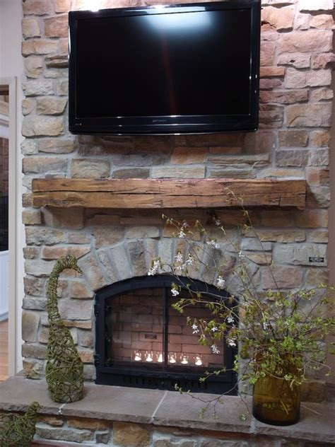 Veneers For Fireplaces by Ledge Veneer Interior Fireplaces