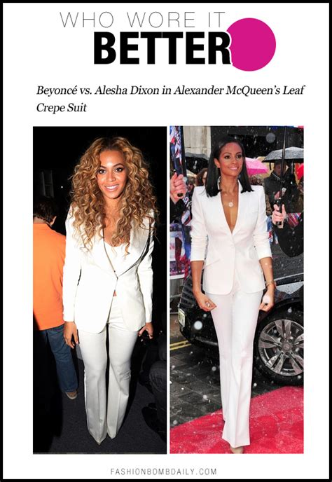 Who Wore Mcqueen Better by Who Wore It Better 0218 Beyonc 233 Vs Alesha Dixon In