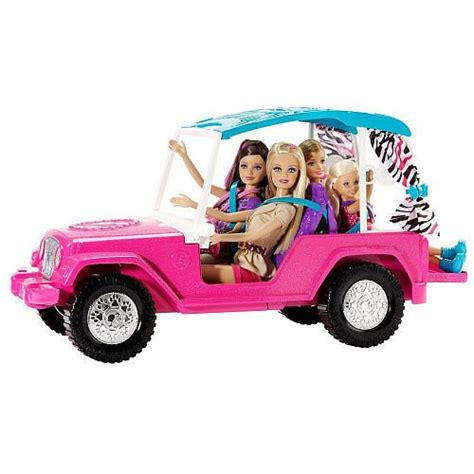 barbie cars from the barbie sisters safari cruiser toys safari and toys r us