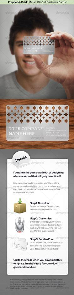 die cut metal business cards a parade of jewelry display ideas on business