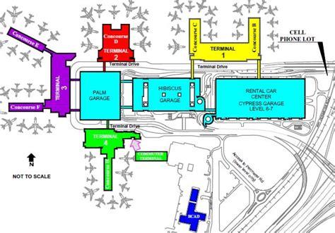 Tiara Floor Plan fort lauderdale hollywood international airport stany