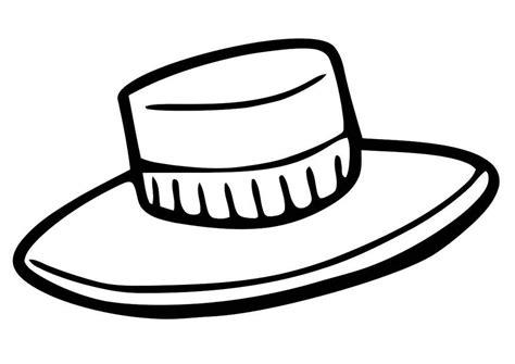 Sombrero Coloring Page Coloring Home Sombrero Coloring Page
