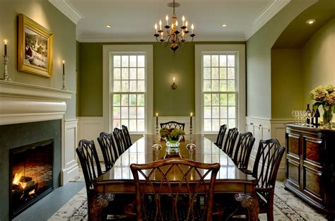 Green Dining Room Wall Formal Dining Room Colours