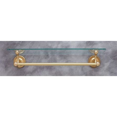 18 Inch Glass Shelf by