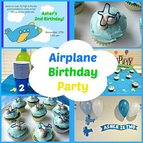 Kitchen Centerpiece Ideas Airplane Birthday Party Love To Be In The Kitchen