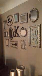 Picture Frame Wall Decor by Pin By Shana May On Home