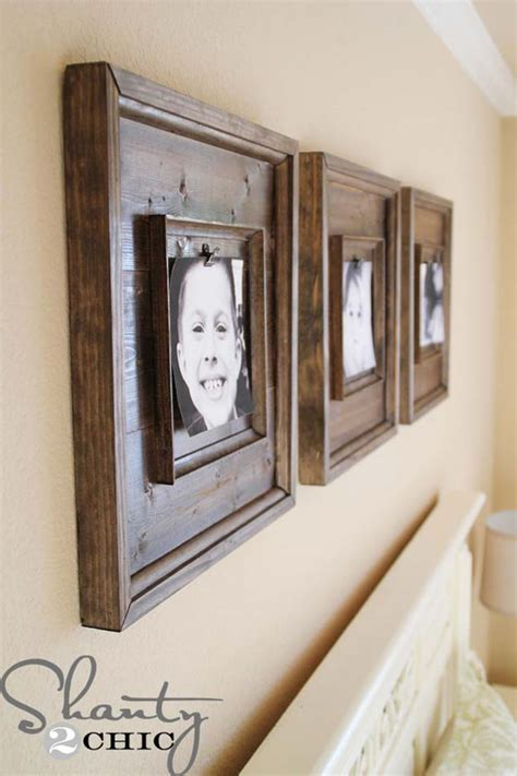 How To Make Handmade Photo Frames For - 31 cool and crafty diy picture frames diy projects for