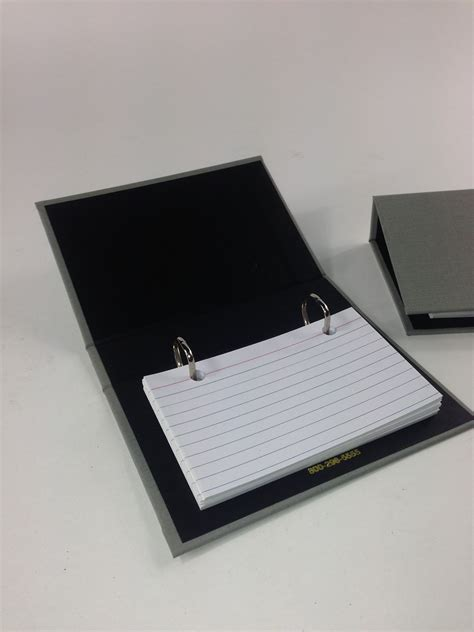 3x5 Index Card Holder