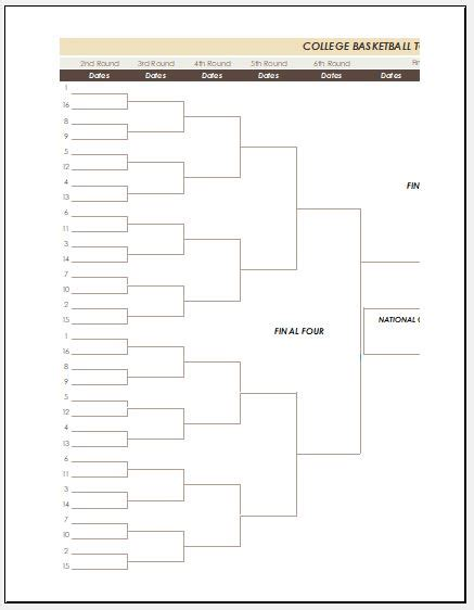 blank bracket template bracket template word blank bracket template