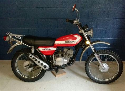 1972 Suzuki Tc 125 Vintage 1972 Suzuki Tc 125 Enduro With Title For Sale On