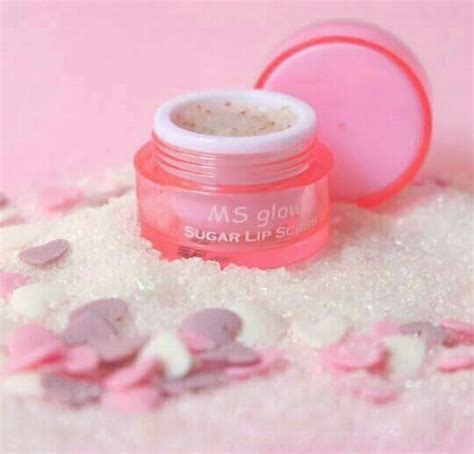 Ms Glow Lip Scrub ms glow paket whitening pigmented series bpom