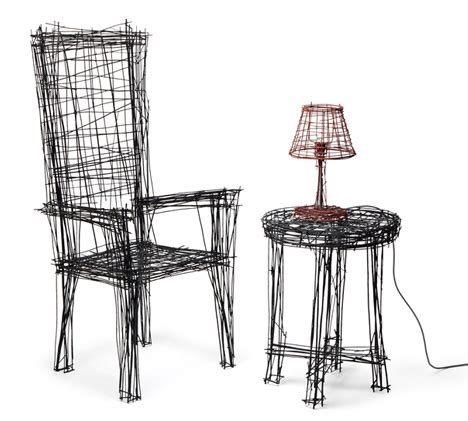 real 3d sketches 3 furniture sets that draw on 2d doodles