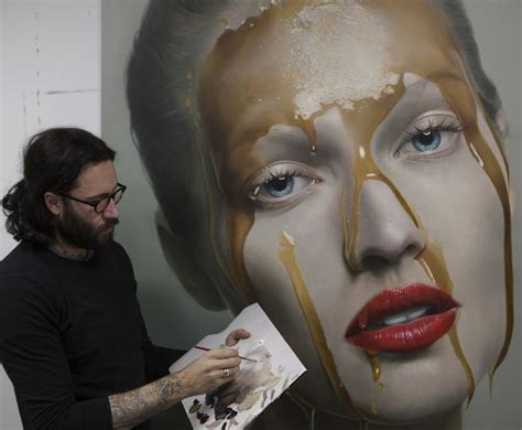 realistic painting incredibly realistic paintings by mike dargas bored panda