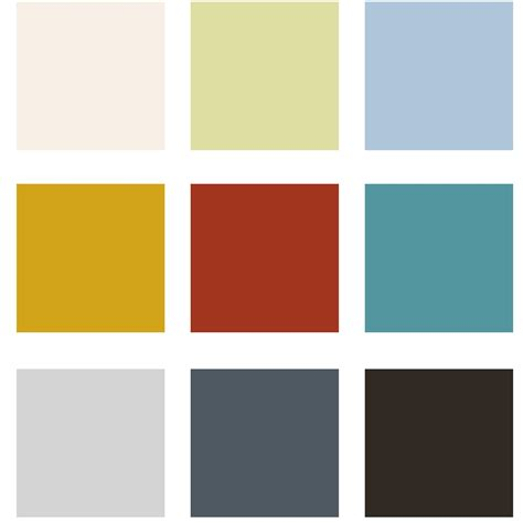 color palete a home in the inspire house color palette