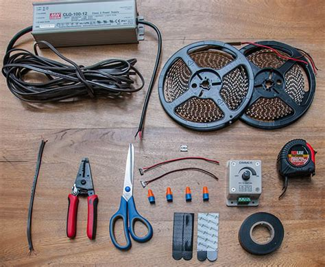 material that can be put over lights how to install led strip lights under counter under