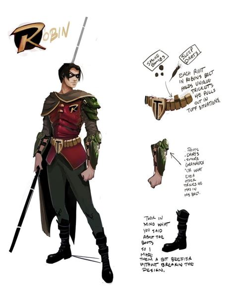 Robin Design by Pass For Robin Costume Design By Ttproject On Deviantart