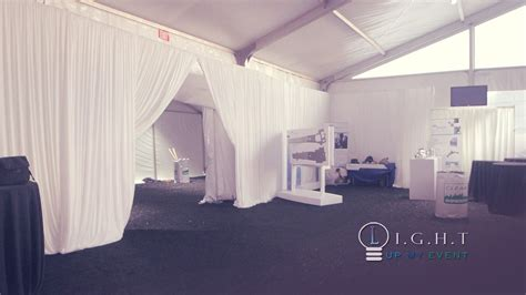 how to drape walls with fabric straight draping grand prix tent detroit michigan encore