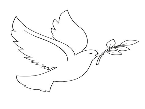 Peace Dove Coloring Page by Peace Dove Coloring Pages Grig3 Org