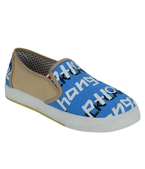 Get Casual get glamr blue casual shoes price in india buy get glamr