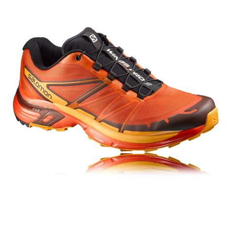 running shoes with wings salomon wings pro 2 trail running shoes ss16 40