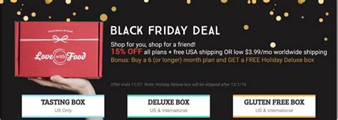 7 Plans For Tackling Black Friday by With Food Black Friday Deal 15 All