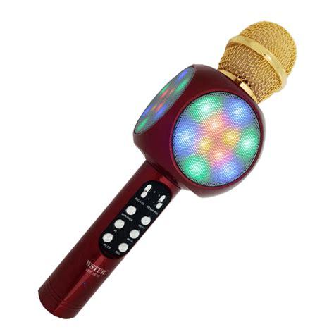 Mic Speaker Bluetooth Mic Karaoke karaoke mic with bluetooth speaker led chinthanagsm
