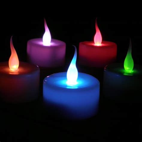 led smart candles colour changing flameless candles