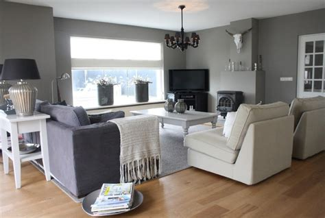 houzz grey living room my houzz country chic family home in the netherlands contemporary living room amsterdam