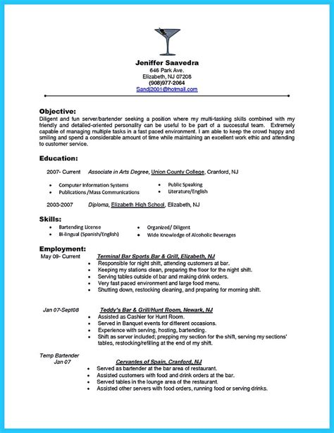 objective for resume for restaurant 79 exciting job resume