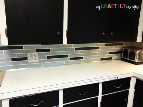 Faux Tile Painted Backsplash Using Chalky Finish Paint | faux tile painted backsplash using chalky finish paint