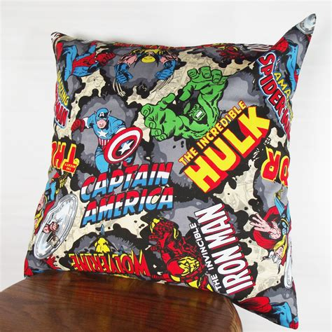 Marvel Pillow Pets by Sale Pillow Marvel Comics Pillow Cover Comic