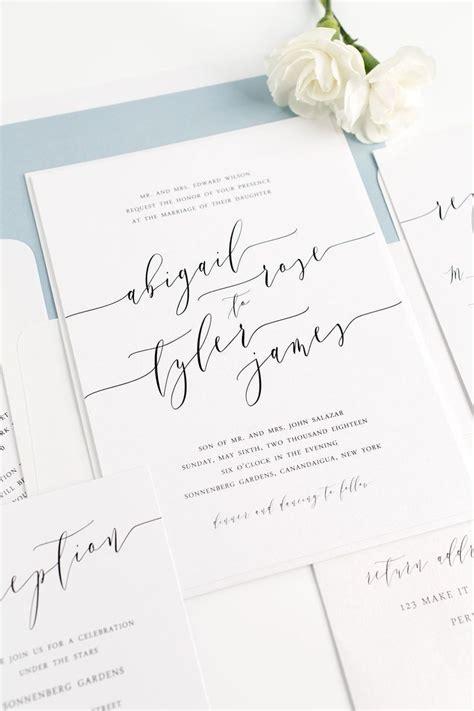Modern Wedding Invitation Letter 17 Best Ideas About Modern Wedding Invitations On Invitations Modern Invitations