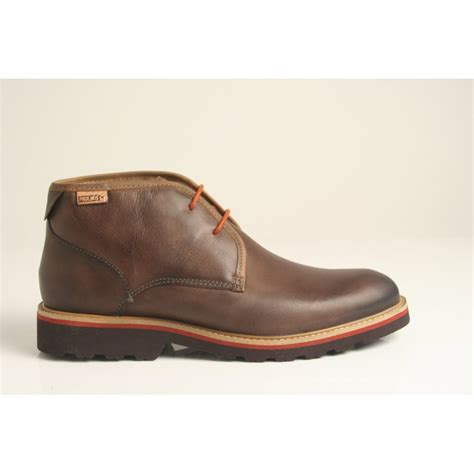 pikolinos style 05m 6030f s lace up boot in chocolate