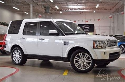 sell used 2012 land rover lr4 hse one florida owner navi