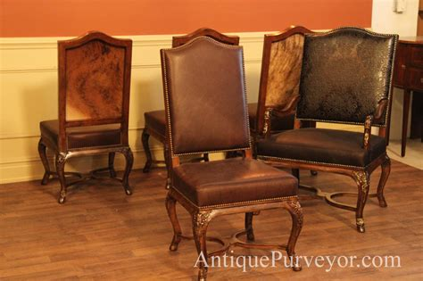 leather upholstered dining room chairs leather upholstered dining room chairs hair hide and