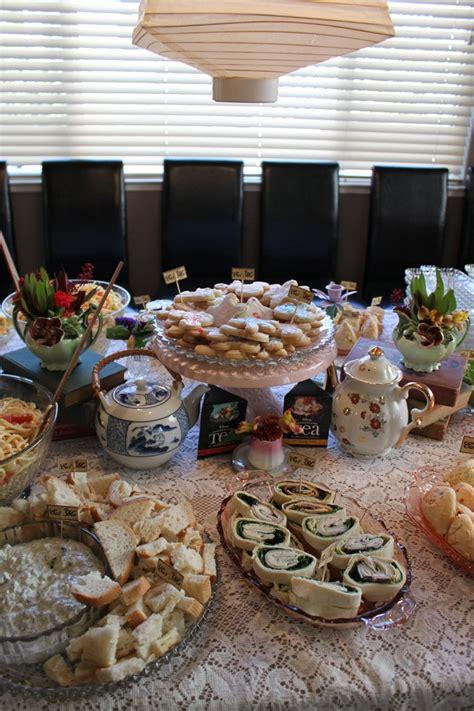 Food Ideas For Bridal Shower by Tea Bridal Shower Food Bridal Shower Ideas