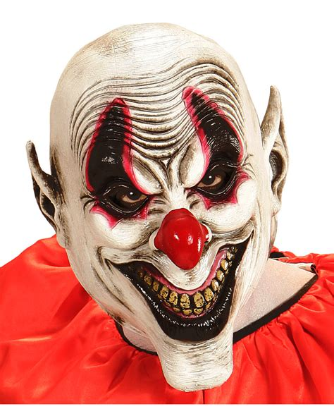 How To Make A Clown Mask Out Of Paper - smile clown mask buy horror shop