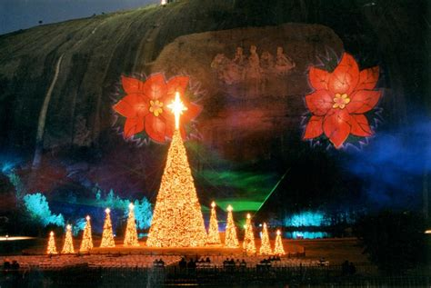 photos stone mountain christmas holiday light show